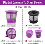 Reusable K Cups for Keurig 2.0 & 1.0 4PACK Coffee Makers $8.45 (REG $29.95)