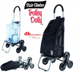 Stair Climber Trolley Dolly, Black Shopping Grocery $30.00 (REG $55.99)