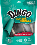 Dingo Tartar and Breath Dental Spirals for All Dogs $2.72 (REG $9.99)