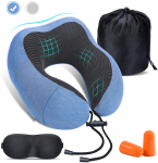 Gugusure Memory Foam Travel Pillow Neck Pillow $7.51 (REG $25.99)