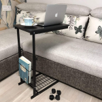micoe Sofa Side Table w/ Wheels Couch Table That Slide Under w/ Storage Shelves $42.99 (REG $68.00)