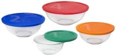 Pyrex Smart Essentials 8-Piece Mixing Bowl Set $16.99 (REG $33.4)