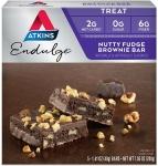 Atkins Endulge Treat, Nutty Fudge Brownie Bar, Keto Friendly, 5 Count $5.47 (REG $8.99)