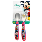 The First Years Disney Baby Mickey Mouse Stainless Steel Flatware for Kids$2.48 (REG $8.99)