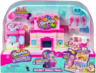 Shopkins Lil' Secrets Secret Small Mall Multi Level Playset w/ Grocery Store, $14.24 (REG $24.99)