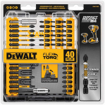 DEWALT Screwdriver Bit Set, Impact Ready, FlexTorq, 40-Piece $14.64 (REG $40.00)