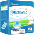 Small Disposable Changing Pads (18″x24″,40 Pack) $17.68 (REG $29.98)
