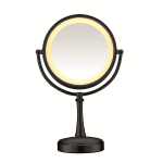 3-Way Touch Control Double-Sided Lighted Makeup Mirror $25.12 (REG $54.99)