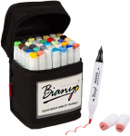 LIGHTNING DEAL!!! Bianyo Dual Tips Art Sketch Markers Permanent Highlighters $13.59 (REG $22.99)