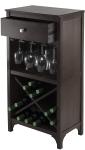 Winsome Ancona Wine Storage, Dark Espresso $68.52 (REG $172.50)