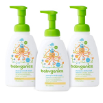 Babyganics Baby Shampoo and Body Wash, Fragrance Free, 3 Pack $14.39 (REG $32.01)