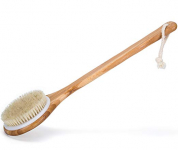 Janrely Bath Dry Body Brush Natural Bristles Back Scrubber $8.99 (REG $19.99)