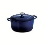 Enameled Cast Iron Covered Round Dutch Oven $51.99 (REG $120.00)