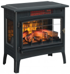 Electric Infrared Quartz Fireplace Stove with 3D Flame Effect $151.99 (REG $299.99)