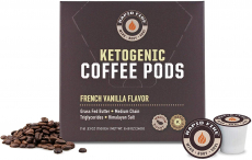 Rapid Fire French Vanilla Ketogenic High Performance Keto Coffee Pods $14.97 (REG $16.97)