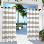 Exclusive Home Curtains Stripe Cabana Window Curtain $22.80 (REG $49.99)