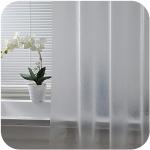 Modern Plastic Waterproof Punch Free Shower Curtain Translucent$11.46 (REG $32.91)