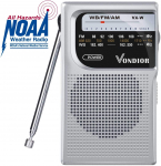 LIGHTNING DEAL!!! Emergency NOAA/AM/FM Battery Operated Portable Radio $16.97 (REG $24.97)