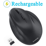 Acedada Rechargeable 2.4GHz Optical Ergonomic Mice $26.29 (REG $89.99)