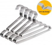 OIKA Clothes Hangers 40 Pack Suit Hangers Stainless Steel Strong Metal Hangers$23.99 (REG $34.99)