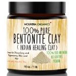 Molivera Organics Bentonite Clay for Detoxifying and Rejuvenating $12.67 (REG $24.99)