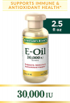 Nature's Bounty Vitamin E Oil 13,500 mg 30,000 IU Topical or Oral, 2.5 ounces $3.42 (REG $8.89)