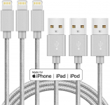 Marchpower iPhone Charger Apple MFi Certified Lightning Cable 3Pack 6ft USB $6.60 (REG $11.99)