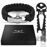 Tactical Survival Gear w/Paracord Bracelet + Keychain Bottle Opener Tool $9.97 (REG $29.99)