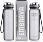 LIGHTNING DEAL!!! Embrava Best Sports Water Bottle – 32oz Large$15.85 (REG $29.95)