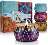 TOFU Winter Scented Candles Set Christmas Gifts for Women $19.97 (REG $25.99)