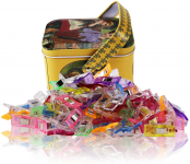 Multipurpose Sewing Clips with Tin Box Package, Assorted Colors, Pack of 100$8.49 (REG $19.99)