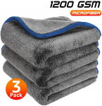 LIGHTNING DEAL!!! Healsell Car Drying Wash Towel Microfiber Cleaning Buffing Cloth $12.86 (REG $25.00)