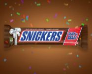 SNICKERS Slice n' Share Giant Chocolate Candy Bar 1-Pound Bar Only $8.32 Shipped!