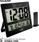 Sharp Atomic Clock – Atomic Accuracy – Never Needs Setting! $34.99 (REG $59.99)