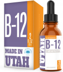 LIMITED TIME DEAL!!! Vitamin B12 Liquid Sublingual Drops – Vegan, Non-GMO, Sugar Free $12.64 (REG $39.99)