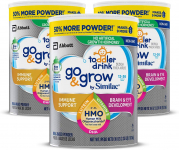 Go & Grow by Similac Non-GMO Toddler Milk-Based Drink with 2'-FL HMO $63.40 (REG $94.99)