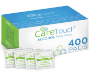 Care Touch Sterile Alcohol Prep Pads, Medium 2-Ply – 400 Alcohol Wipes $8.99 (REG $19.99)