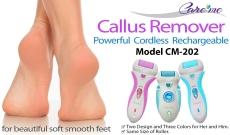 Rechargeable Pedicure Foot File Callous Remover $17.83 (REG $39.99)