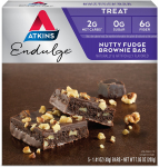 Atkins Endulge Treat, Nutty Fudge Brownie Bar, Keto Friendly, 5 Count $5.85 (REG $8.99)
