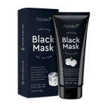 AsaVea Black Mask Purifying Black Peel Off Mask Blackhead Remover, Activated Charcoal Deep Cleansing Facial Acne Pore Cleaner 60g $11.99(REG $17.99)