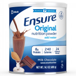 Ensure Original Nutrition Shake Powder with 8 grams of protein $29.97 (REG $59.94)