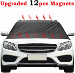 Kribin Magnetic Windshield Snow Cover with 12 PCS Powerful Magnets$7.99 (REG $17.99)