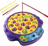 Haktoys Fishing Game Toy Set with Single-Layer Rotating Board $12.70 (REG $29.99)