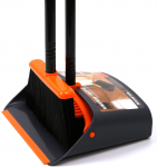 Dust Pan and Broom/Dustpan Cleans Broom Combo with 52″ Long Handle $27.99 (REG $39.99)