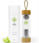 The Well Double Walled Tea Infuser Bottle with Bamboo Lids (17oz)$19.99 (REG $49.95)