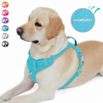 BARKBAY No Pull Dog Harness Front Clip Heavy Duty Reflective Easy Control Handle $21.99 (REG $42.99)