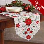 Aytai Embroided Table Runners Christmas Table Runners$4.99 (REG $17.99)