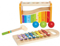 Hape Pound & Tap Bench with Slide Out Xylophone $16.73 (REG $29.99)