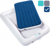 LIMITED TIME DEAL!!! hiccapop Inflatable Toddler Travel Bed with Safety Bumpers$44.87 (REG $89.99)