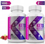 (2 Pack | 120 Capsules) Keto Pills with Carb Supplement – Exogenous Ketones $19.99 (REG $35.00)